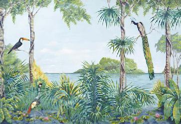 Poster para pared - Blue lagoon Enmarcado de laminas