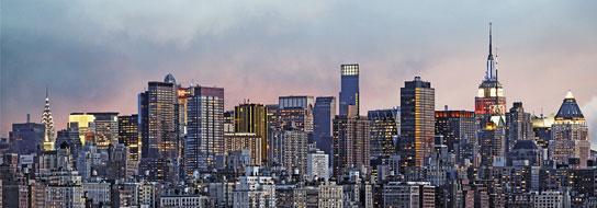 Poster para pared - Manhattan skyline