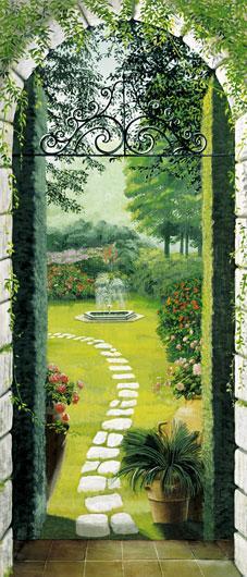 Poster para pared - Vista dal porticao