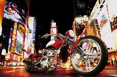 Poster para pared - Mid night rider Enmarcado de laminas