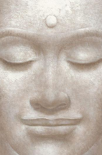 Poster para pared - Smilings buddha