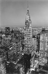 Poster para pared - Chrysler building Enmarcado de laminas