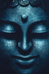 Poster - Blue Buddha Marcos y Cuadros