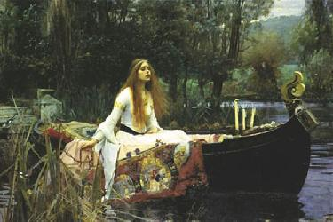 Poster - The lady of shalott Marcos y Cuadros