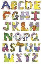 Poster - Animal Alphabet Enmarcado de laminas
