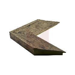 bajada 9 cm plomo manchado Enmarcado de laminas