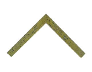 Chata 3 cm picada roble Enmarcado de cuadros