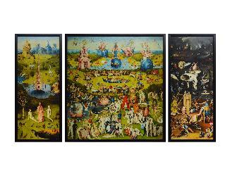 CUADRO El Jardin de las delicias triptico Enmarcado de cuadros