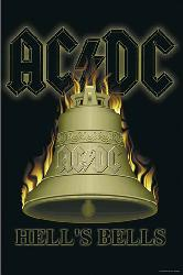 Poster - ACDC Hells Bells Marcos y Cuadros