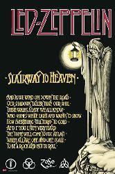 Poster - Led Zeppelin Enmarcado de cuadros