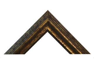 Escalera 65 mm Oro antiguo Enmarcado de cuadros