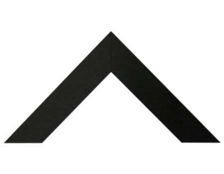 Chata 5 cm Negro Mate