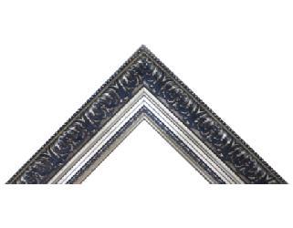 Batea frizada 90 mm policromada oro Enmarcado de cuadros