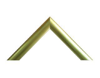Bombe 3 cm dorado a la hoja Enmarcado de laminas