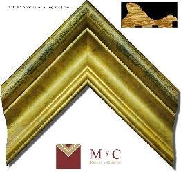 6001 oro Enmarcado de laminas