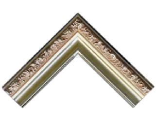 Batea frizada 90 * 50 mm plata Enmarcado de laminas