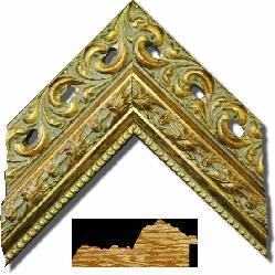 6011 Oro Enmarcado de laminas