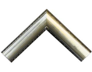 Batea 70 mm c|frizas plata Enmarcado de laminas