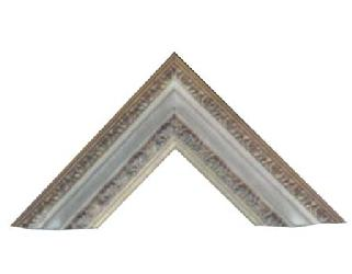 Cuello de Cisne 85 x 51 Hueso Enmarcado de laminas
