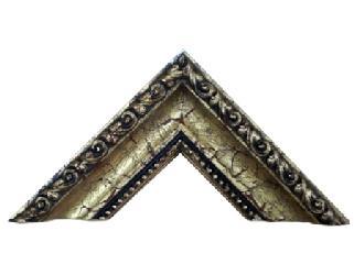 Batea 65*40 mm cordon y perla oro antiguo Enmarcado de laminas