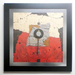 cuadro abstracto, quest Enmarcado de laminas