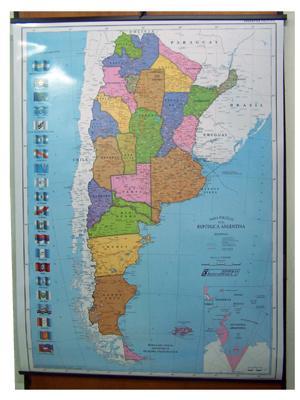 Mapa - Argentina Politico