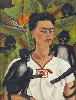 Frida Kahlo  (Coyoac�n, 6 de julio de 1907- Coyoac�n, 13 de julio de 1954, Mexico) Marcos y Cuadros