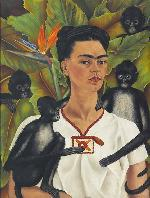 Frida Kahlo  (Coyoac�n, 6 de julio de 1907- Coyoac�n, 13 de julio de 1954, Mexico) Enmarcado de laminas