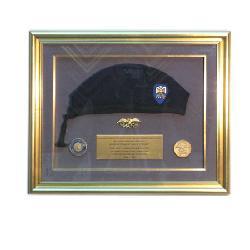 Enamarcado Boina, medallas y pin Enmarcado de cuadros