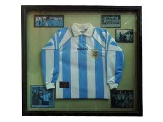 Enmarcado de Camiseta Argentina Enmarcado de cuadros