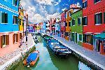 Canal de Venecia Enmarcado de laminas