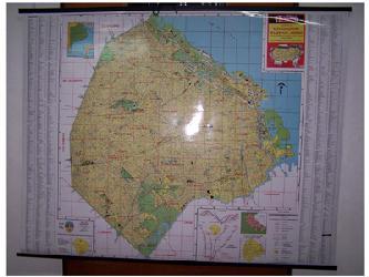 Mapa - Ciudad de Buenos Aires Enmarcado de laminas