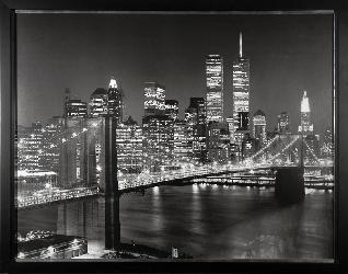 Cuadro - Brooklyn Bridge Enmarcado de laminas