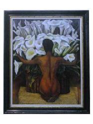 Cuadro - Desnudo con calas Marcos y Cuadros