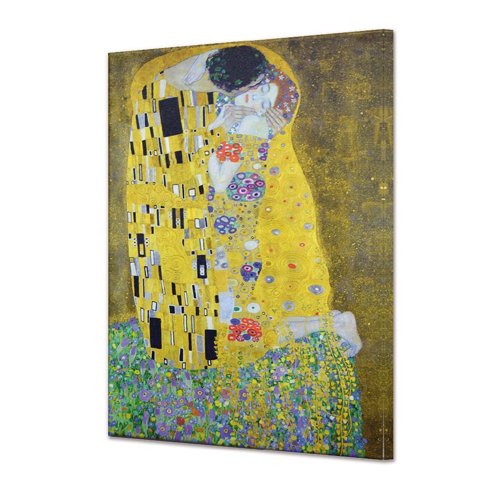Cuadro Canvas Bastidor  El Beso Klimt