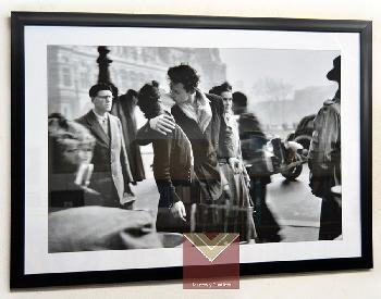 Enmarcado lámina Beso, Doisneau, Robert Enmarcado de laminas