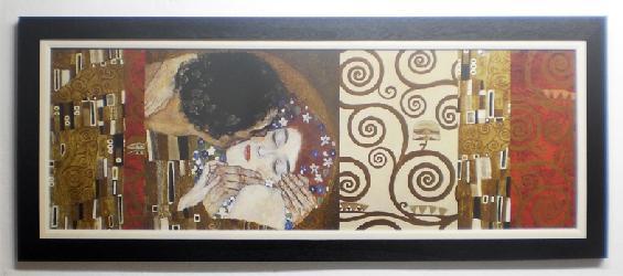 Cuadro con lamina de Klimt Enmarcado de laminas