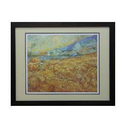 Cuadro  El segador Van Gogh Enmarcado de cuadros