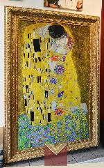 El Beso, Gustav Klimt Enmarcado de laminas