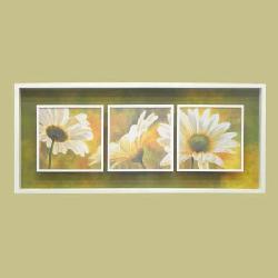 Cuadro - Marguerites dans le soleil I, II y III Enmarcado de cuadros