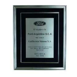 Enmarcado Placa de Ford Argentina Marcos y Cuadros