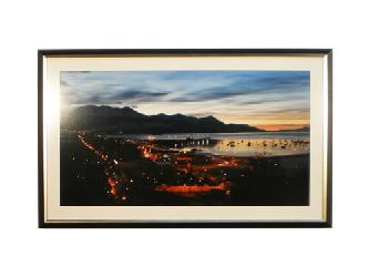 Cuadro Foto Ushuaia Enmarcado de laminas