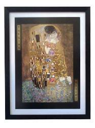 Cuadro - El beso (discontinuado) Enmarcado de laminas