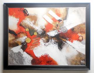 cuadro abstracto Jadis Enmarcado de laminas