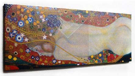 Gustav Klimt Sea Serpent Enmarcado de laminas