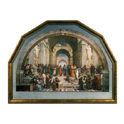 Cuadro - La escuela de Atenas Enmarcado de cuadros