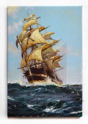 Cuadro canvas La Cresta de una Ola Dawson Montague Enmarcado de laminas