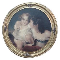 Cuadro - Portrait des enfants Marcos y Cuadros