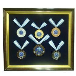 Enmarcado de Medallas Tiro Federal Marcos y Cuadros