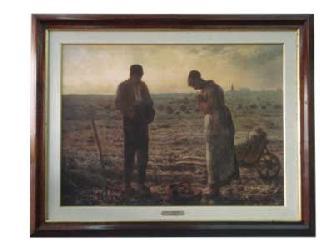Cuadro - El Angelus Marcos y Cuadros